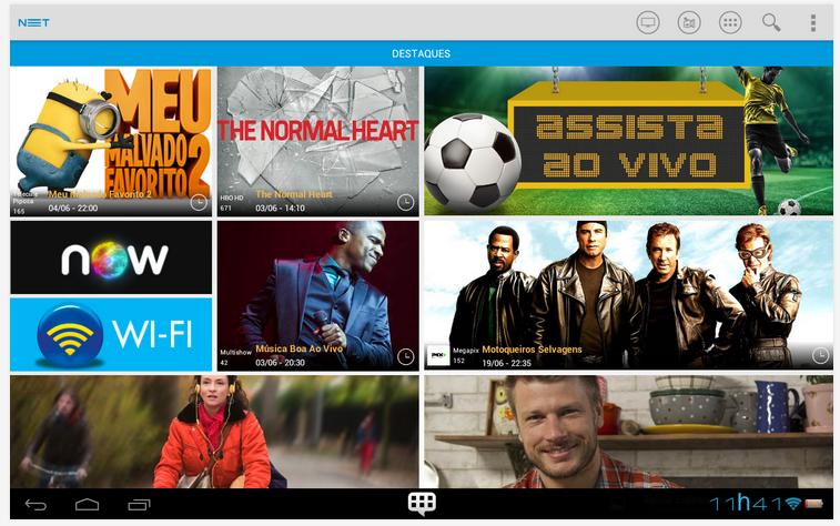 net app 01 NET atualiza o seu aplicativo para dispositivos móveis