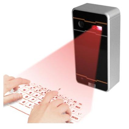 Spark 20140807233644 Atongm Bluetooth Virtual Keyboard, um teclado para seu dispositivo projetado em qualquer superfície
