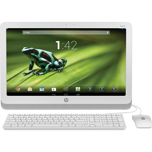 hp slate 21 android Dicas de Compras   Computador All in One HP Slate 21 com sistema Android