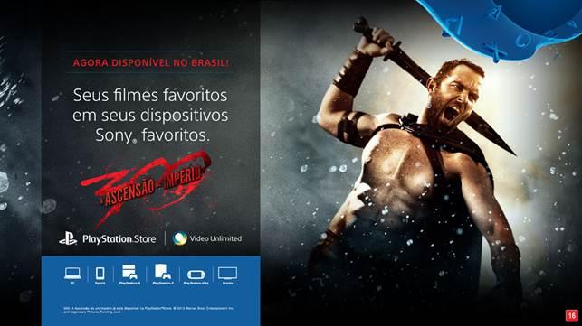 sony video unlimited Sony lança o serviço Video Unlimited no Brasil