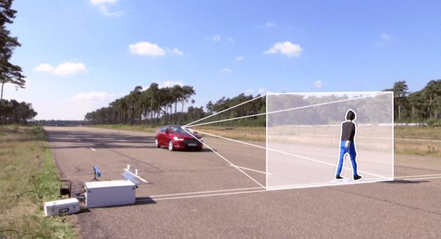 ford mondeo detector peatones Ford Mondeo estreia tecnologia de detecção de pedestres