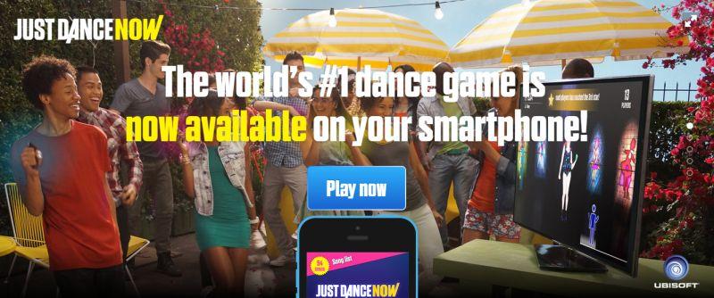 just dance now1 Versão de Just Dance para dispositivos móveis é lançada mundialmente