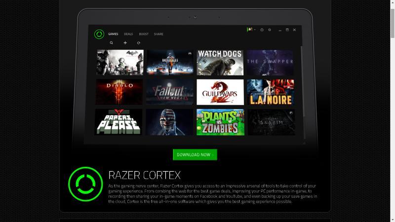 razer cortex Novo Razer Cortex vem com função que dá descontos exclusivos em games para PCs