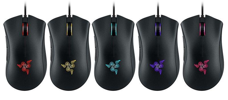 rzrda chroma colours 1 Razer atualiza seu mouse para games DeathAdder, com 10.000 DPI e luzes camaleônicas