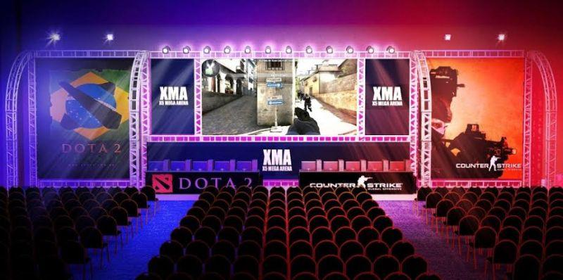 unnamed Espaço exclusivo para campeonatos de Dota2 e CS:GO são destaques da segunda edição da X5 Mega Arena