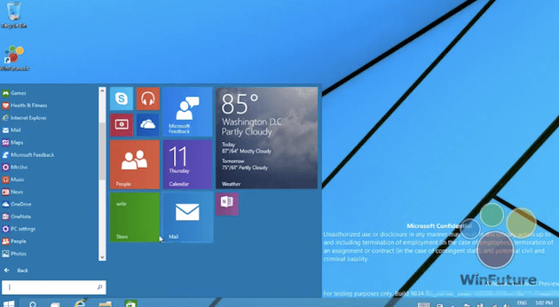 windows 9 Vazou mais um vídeo com o suposto Windows 9 em funcionamento