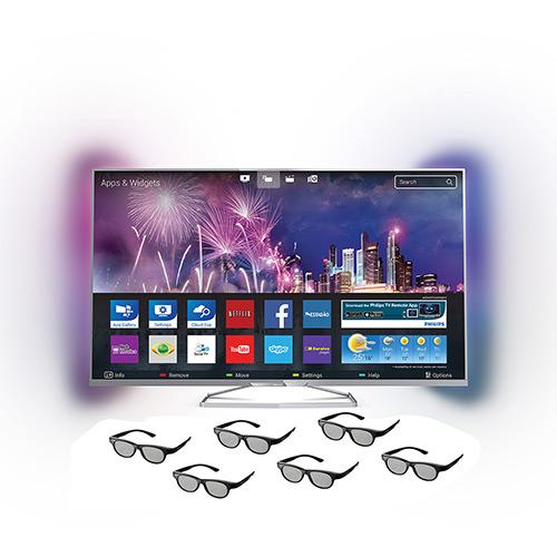 119797053 1GG Dicas de Compras | Smart Tv 3D Led 42 Philips 42Pfg6809/78 Full HD, por R$ 1.849
