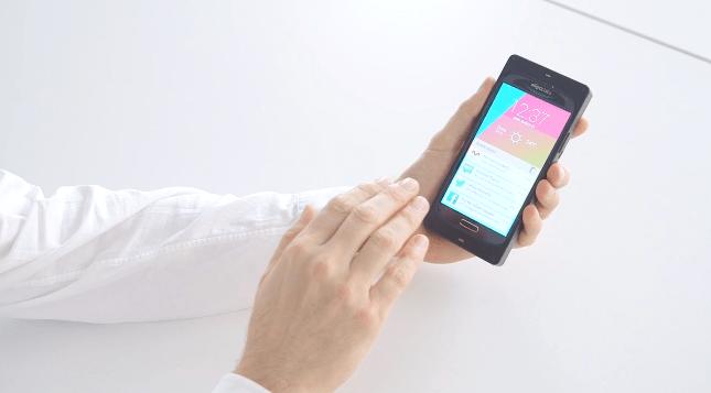 650 1000 gestos ultrasonico Os smartphones controlados por gestos via ultrassom podem chegar ao mercado em 2015