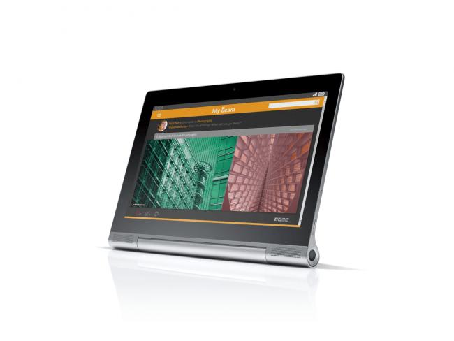 650 1000 lenovo yoga tablet 2 pro portada Lenovo Yoga Tablet 2 Pro, um tablet com 13 polegadas e projetor integrado