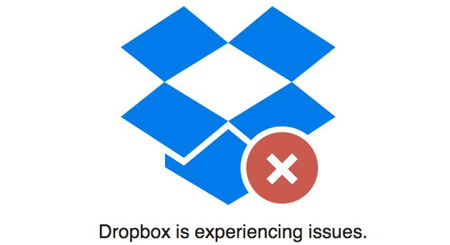 dropbox down Falha no Dropbox destrói arquivos de vários usuários