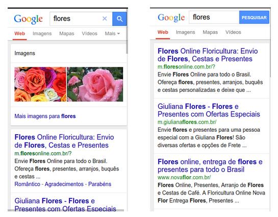 google speed web Google reduz volume de elementos em suas buscas nos dispositivos móveis
