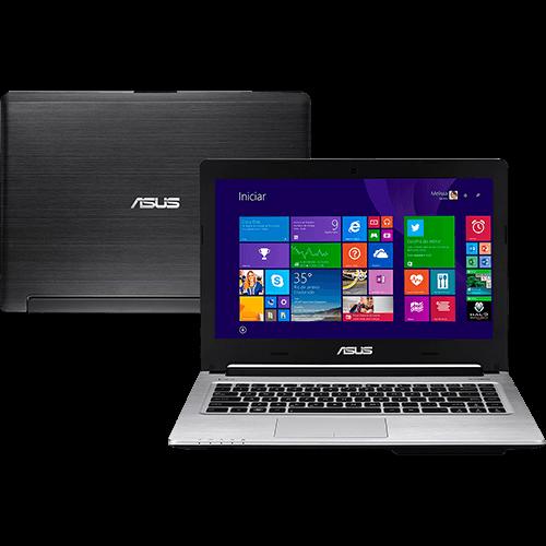 121105896 1GG Black Friday 2014 | Ultrabook Asus S46CB Intel Core i5 6GB, por R$ 1.544