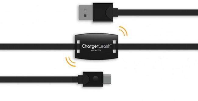 650 1000 micro nuevo ChargerLeash Pro, um alarme incluído no carregador