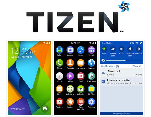 650 1000 tizen 2.3 Novas imagens do Tizen 2.3 para smartphones de entrada aparecem na web