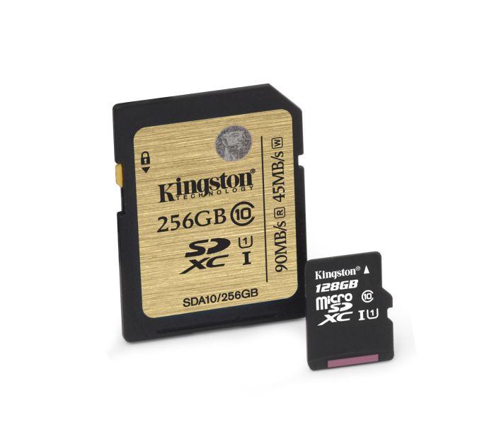 image002 Novos cartões Kingston oferecem o dobro de memória para gravação de vídeos