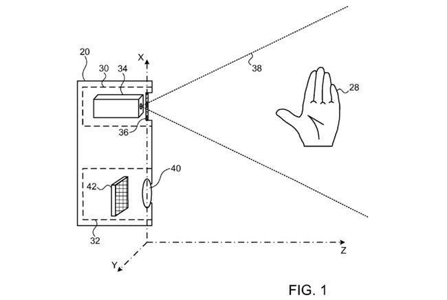 650 1000 patente apple primesense Apple pensa em um futuro Apple TV controlado por gestos
