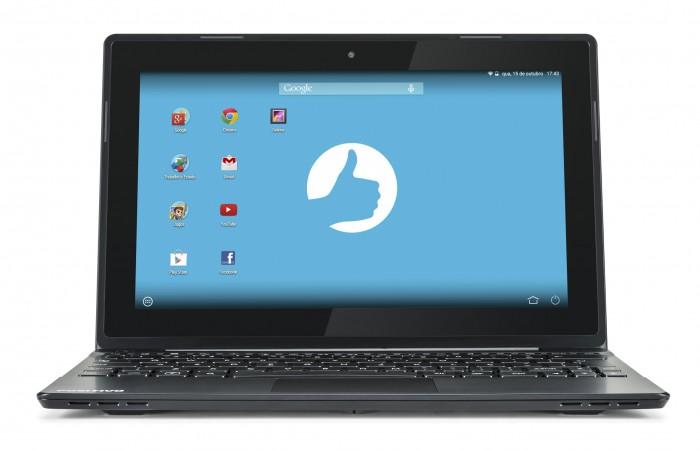positivo sx1000 01 Notebook Positivo SX1000, com sistema operacional Android, é lançado no Brasil