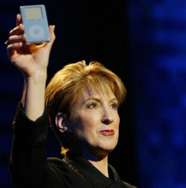 Carly Fiorina-iPod