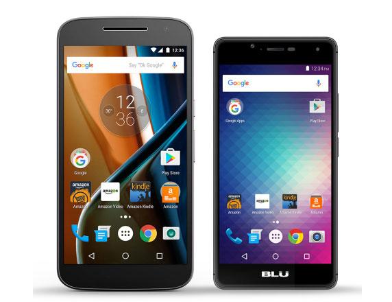 amazon smartphhnes android acessíveis