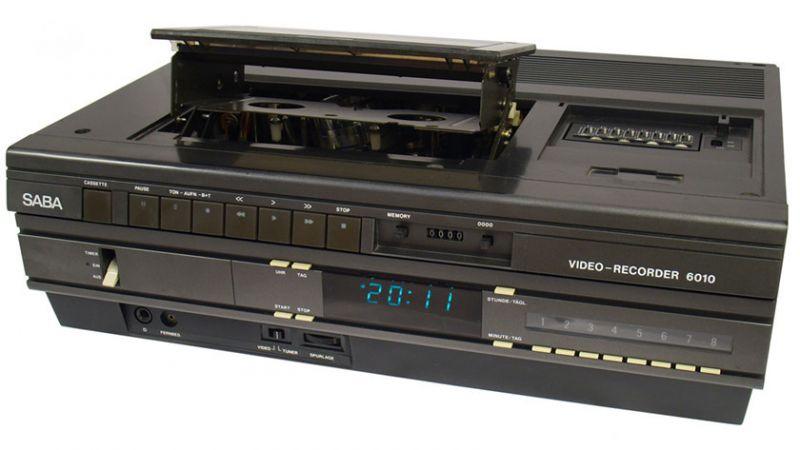 VHS videocassete