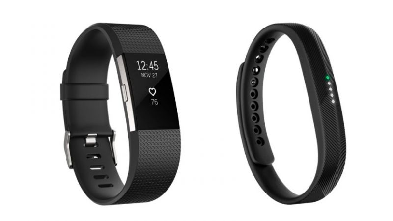 Fitbit Charge 2 e Fitbit Flex 2