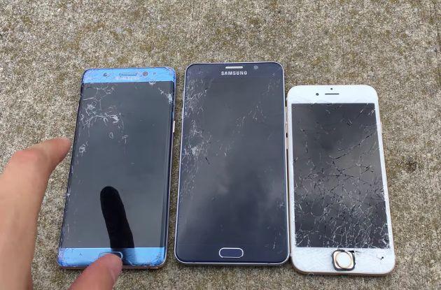 Galaxy Note 7 vs iPhone 6 vs Note 5