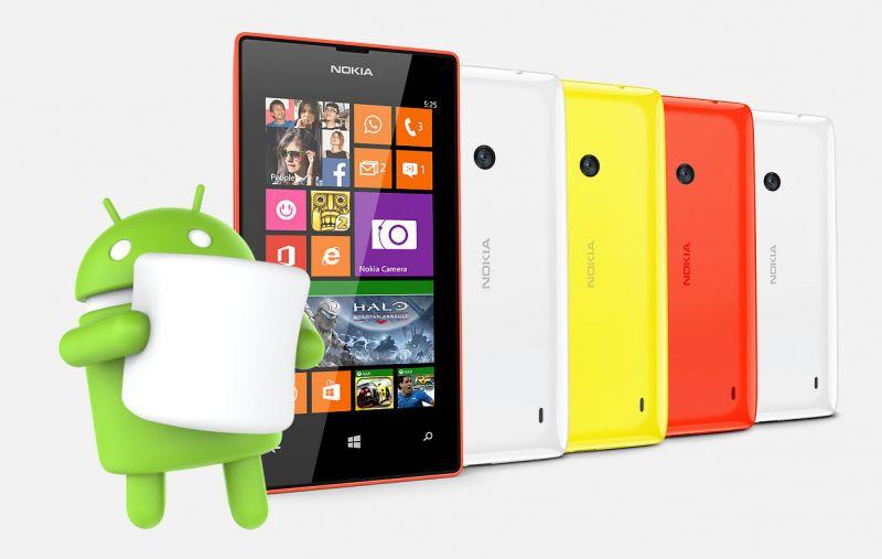nokia lumia 525 com android