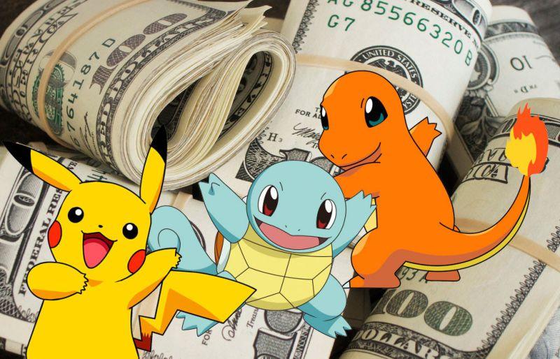 pokémon go money