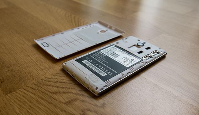 smartphone samsung aberto