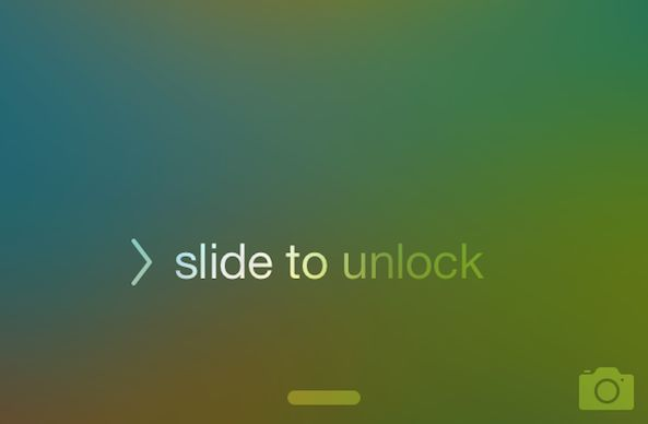 slide-to-unlock