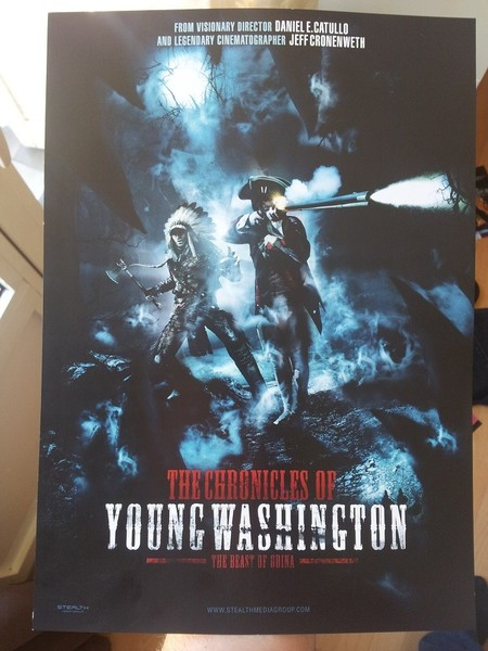 Poster do filme The Chronicles of Young Washington