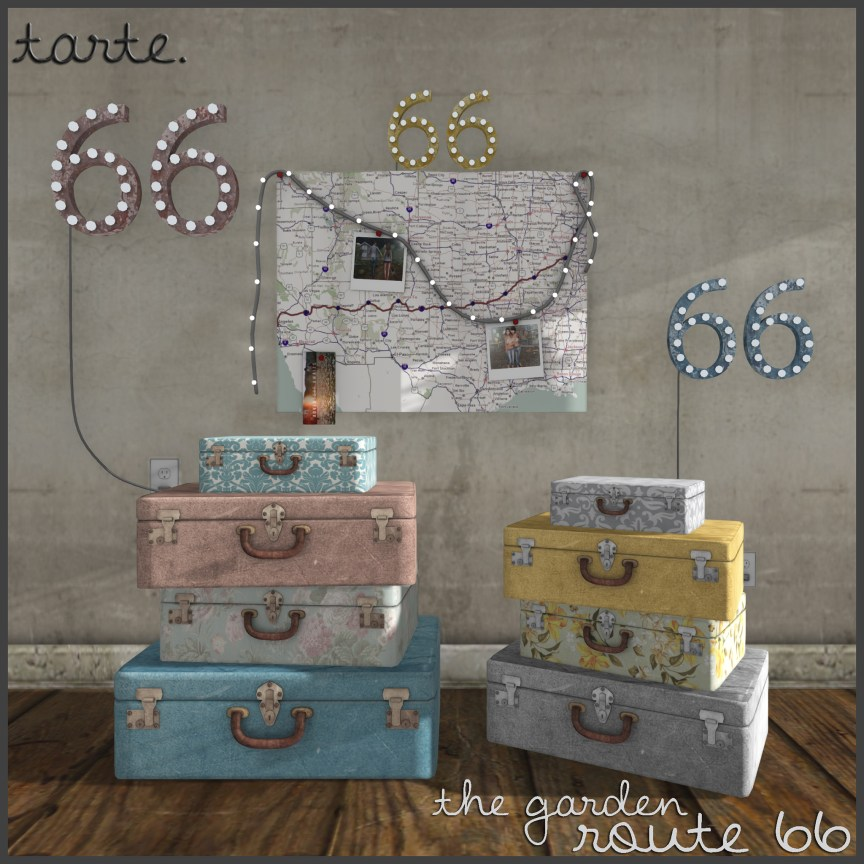 tarte. route 66 (full set) - vendor