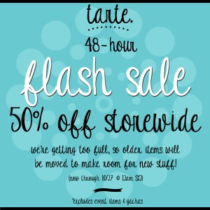 tarte. flash sale flickr