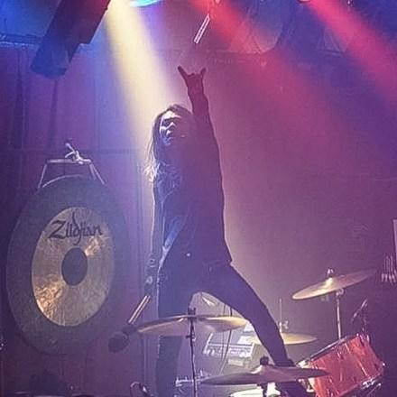 Atsuo from the band Boris during their stop at The Masquerade (Atlanta).