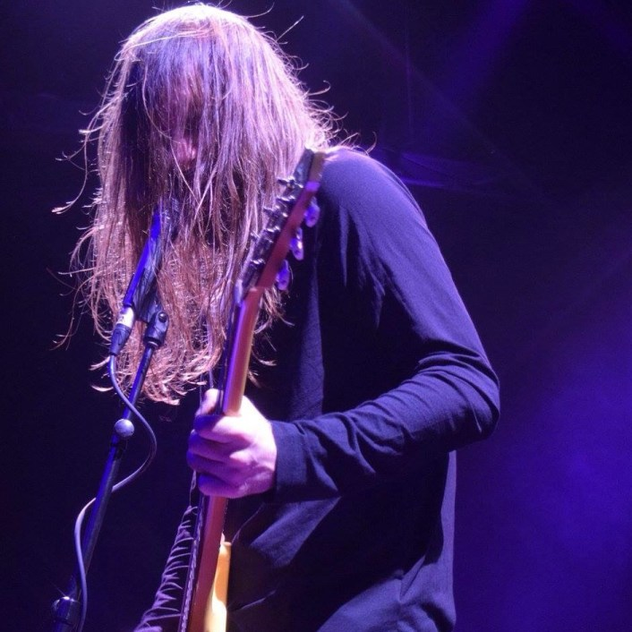 The man behind Uncle Acid & The Deadbeats... Kevin (K.R.) Starrs (vocals/guitar).