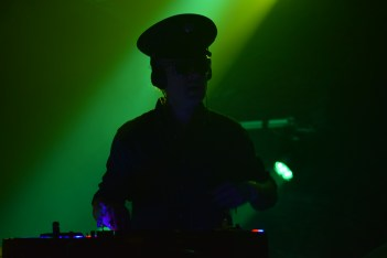 D.J. Harry of the band BoomBox during their sold out performance at Terminal West (Atlanta).