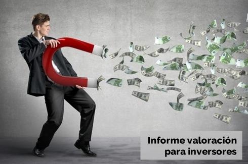 Informe tasacion informatica valoracion para inversores due dilligence