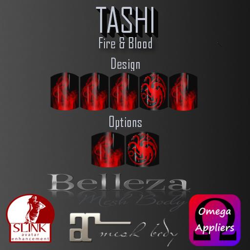 TASHI Fire & Blood