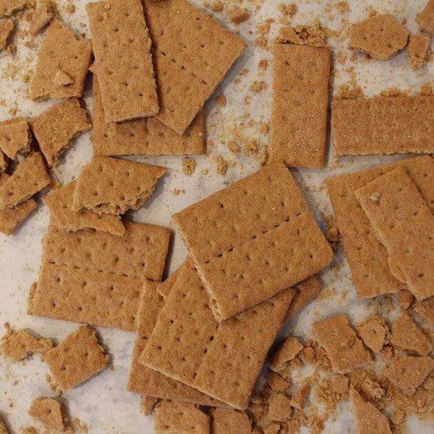 Chocolate Hazelnut Tart crackers