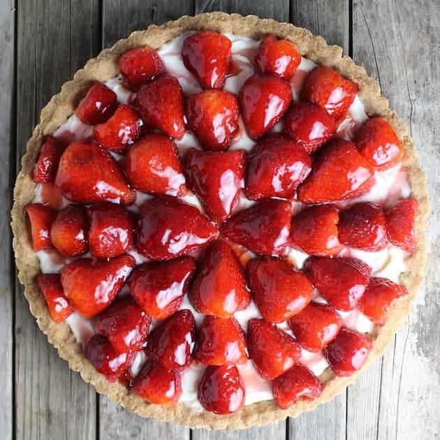 Strawberry Mascarpone Tart   Taste And See