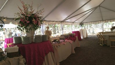 Reception at Newell Lodge in Folkston