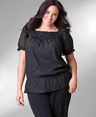 Lane Bryant Black Top