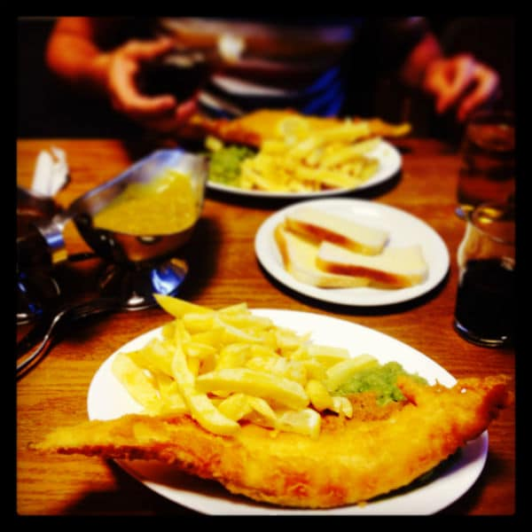 Feast of fish and chips