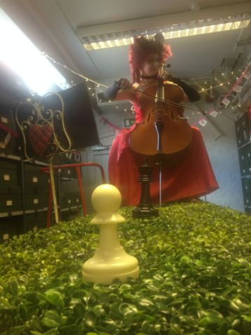 The Queen of Hearts A high Tea in Wonderland MIF