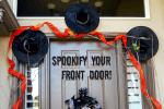 Dollar Store Craft: Halloween Front Door Project Tutorial