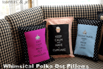 Polka Dot Whimsical Pillows
