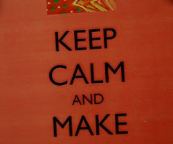 Party Idea: KEEP CALM and MAKE a COOKIE