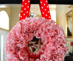 Cupcake Wreath Update