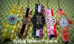 Spring Project: Ribbon Wristlets!