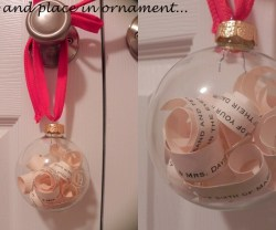 Guest Project — Make a Sentimental Christmas Ornament